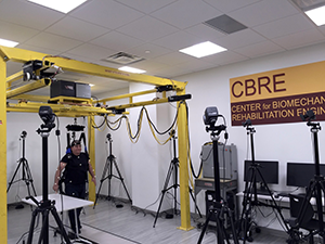 Research using the NaviGAITor and Vicon System within the CBRE lab