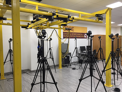Vicon Motion Capture System within the CBRE lab
